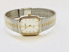 Vintage Pierre Bideaux Men's Quartz  Wrist Watch TwoTone N.O.S(19083M)