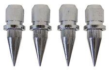 DYNAVOX-SUB-WATT-ABSORBER  4er SET  CHROM  SPIKES   -  1  SET