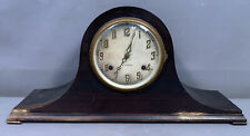New ListingAntique New Haven Old Cathedral Gong Movement Wood Estate Mantel Clock