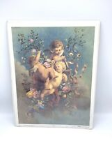 Vintage Litho Print Cherub #22553 13 X 17 The Antique Classic Collection Gallery