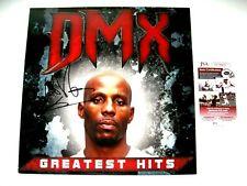 DMX Autographed Signed Greatest Hits Vinyl Album JSA # CC30451