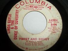 LINDA GAYLE & THE duke of coventry where have you been twist and shout 45 promo