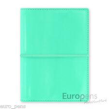 Filofax Domino Patent Pocket Diary Organiser- Turquoise (022513)