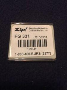 Zip! FG Carbide Burs 331 - 15 Pk