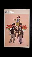 Tintin Carte Postale Juventud espagnole années 60 vierge quasi neuve bis