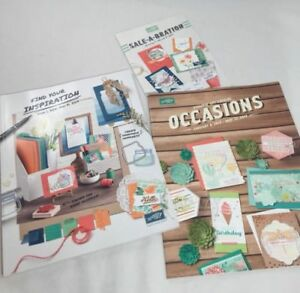 Stampin' Up! 2016-2017 Annual Catalog & Occasions Catalog & Sale-a-Bration Ideas