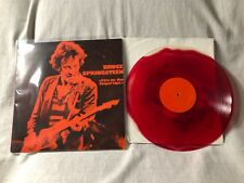 Bruce Springsteen Fire on the Fingertips LP Record VG+/VG Unofficial Import UK