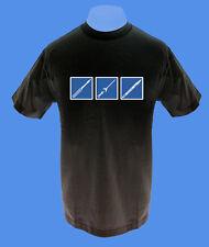 Männer Herren T-Shirt Piercing Bodymod Punch Skalpell Nadel move S XL XXL schwar