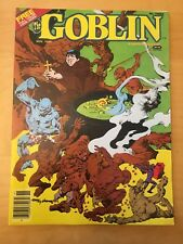 THE GOBLIN 3, 1ST PRINT, 1982, WARREN MAGAZINE, WITH COLOR INSERTS