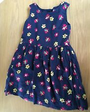 Girls Navy Floral GAP Dress Size 3 Years