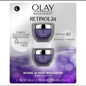 Olay Regenerist Retinol 24 Night Facial Moisturizer (1.7 fl oz, 2 pk)