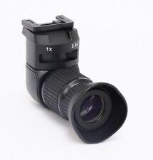 Profi Winkelsucher 2,5x für Canon EOS, Nikon, Fuji, Pentax, Minolta und Olympus