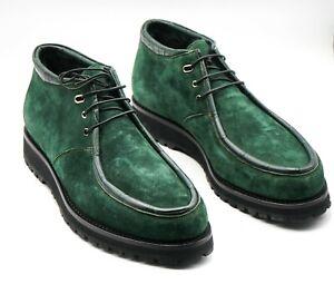 NWT STEFANO RICCI Leather Boot EAGLE Shoes Eu 42 Uk 8 Us 9 (SR305)