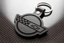 Handmade Leather Keychain Keyring for Chevrolet Corvette C4