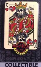 2017 HARD ROCK CAFE FOXWOODS SKULL/KING OF HEARTS CARD PIN