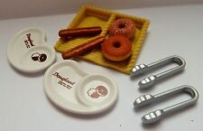 SYLVANIAN FAMILIES SPARES * DONUT SHOP STALL ACCESSORIES * COMBINED P+P NEW