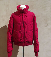 ° MOSCHINO °- Manteau, doudoune court rouge Taille 40