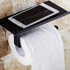 Wall Mounted Oil Rubbed Bronze Toilet Paper Holder Square Tissue Bar