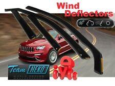 Jeep Grand Cherokee 2011 - ON  5 doors  Wind deflectors 4 pc set  HEKO  19123