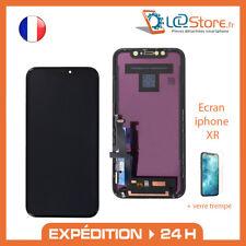 Ecran Vitre tactile pour iphone XR + verre trempé offert