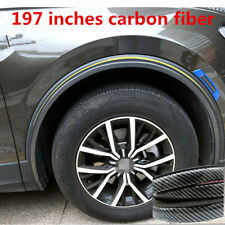 "2019 Accessories Carbon Fiber Sticker Car Wheel Lip Bumper Protector Trim 197"""