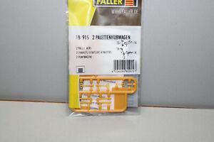 FALLER 180915 2 Palletten With Pallet Truck Gauge H0 Boxed