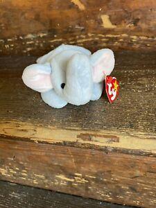 1995 Peanut the Elephant Ty Beanie Baby Retired
