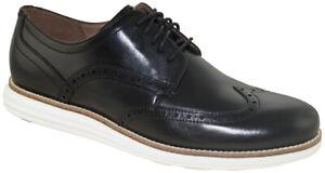 Cole Haan Men's OriginalGrand Wingtip Oxford Black Style C26469
