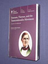 Teaching Co  Great Courses DVDs       EMERSON THOREAU TRANSCENDENTALIST  sealed