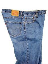 Levis Mens 550 Blue Jeans Classic Tapered Stone Wash Slub 4002 Size 36x30