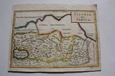 Russia Siberia Scythia Caspian sea, map Cellarius 1703