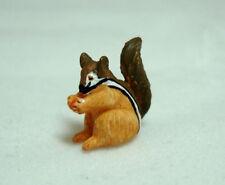 Dollhouse Miniatures Standing Chipmunk Dark Tail for Doll House Miniature Garden
