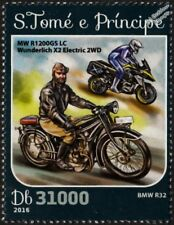 BMW R32 &  R1200GS LC Wunderlich X2 Electric 2WD Motorcycle Motorbike Stamp