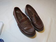 Eastland Penny Loafers GUC Women's 8 M burgundy shoes 512953 comfort padded wine