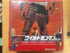 NINTENDO FAMICOM GUN WILD GUNMAN and  Gun SET ALL japan