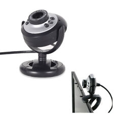 USB Webcam Camera+Mic 16 megapixel MP 6 LED Web Cam For Laptop PC Computer Skype