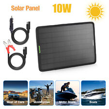 Solar Panel Trickle Charging 12V Battery Charger Kits for Maintainer Boat Car