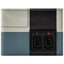 NEW OFFICIAL NINTENDO NES CONSOLE FRONT PANEL GREY ID & CARD BI-FOLD WALLET