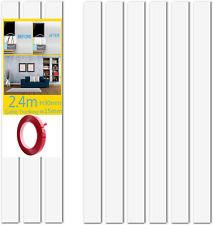 More details for cable trunking, cable wall cover, paintable cord hider to hide wires for tv and