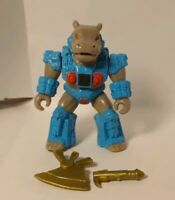 Battle Beasts: # 32 Hummungus Hippo with loose Rub (Fire) and Broken Weapon