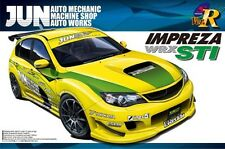 1/24 Subaru GRB Impreza WRX STI 5 Door, JUN 2007 Rally Version Plastic Model Kit
