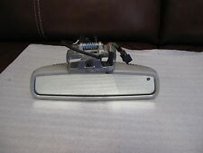 W220 W215 Mercedes Inside Interior Rear View Mirror Cover Glass CL55 S350 S55 CL