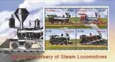 Timbres Trains Guyana 5840/3 ** année 2005 lot 24559 - cote : 12 €
