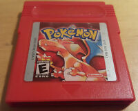 POKEMON RED VERSION for NINTENDO GAME BOY FREE UK P&P cartridge only TESTED