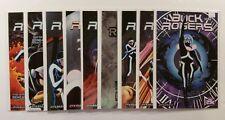 Lot of 9 Buck Rogers #0-8 Dynamite Comics 2009 Variant Covers Rafael Beatty