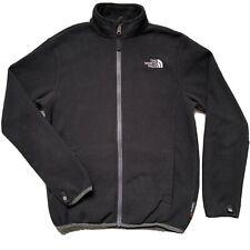 THE NORTH FACE Boys Black Full Zipper Fleece Jacket SIZE M 10/12 Jumper