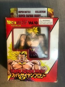 Super Battle Collection SAIYAN BROLY Action Figure DRAGON BALL Z DBZ Bootleg