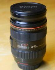 Canon EF 24-70 L, f2.8, good condition