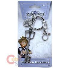 Kingdom Hearts Sora Key Blade Key Chain Licensed Pewter Metal Key Ring