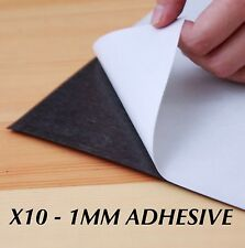 10 x A4 Magnet Sheets Adhesive Front Layer Home and Office Bulk Buy 1mm 1.0mm